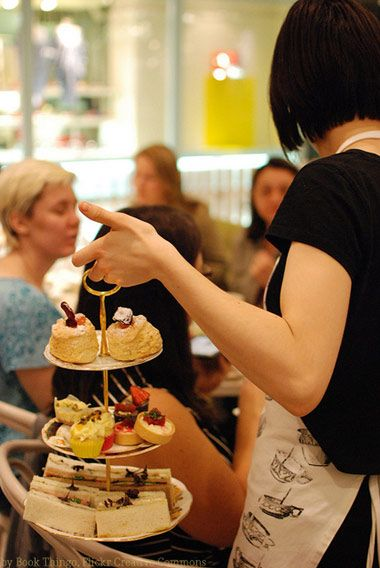 Places to get high tea in Victoria BC