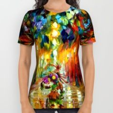 zelda light All Over Print Shirt