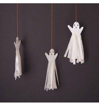 Le decorazioni Halloween fantasmi  renderanno indimenticabile la tua festa! Su PalaParty trovi online tanti addobbi Halloween  originali ed introvabili!