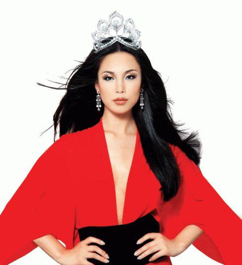 Miss Universe 2007 Riyo Mori of Japan