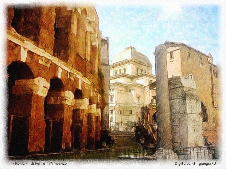 Cartolina di Roma