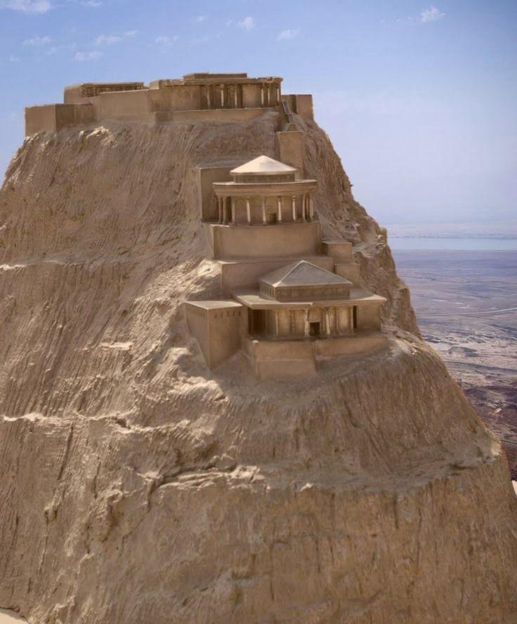 Masada, Israel. - La fortaleza de Masada y su entorno fueron declarados Parque Nacional de Israel en 1966, formando parte de la ...... así como a elevar la historia de Masada hasta cotas heroicas que sugirieran un paralelo histórico