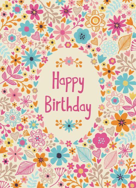 Jane Ryder-gray - Birthday Flowers