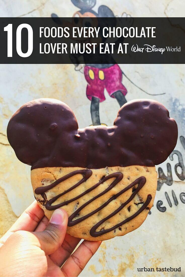 Best Chocolate Foods at Disney World
