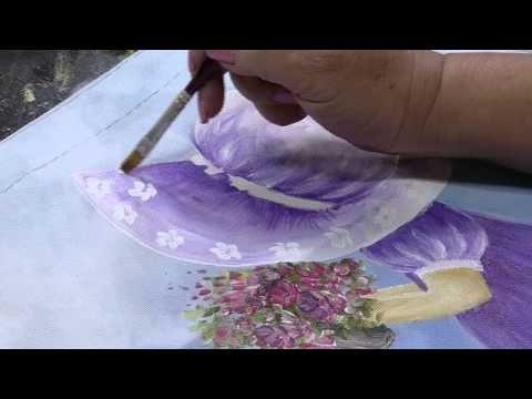 Mulher.com 28/08/2014 - Pintura Estamparia Tecido po r Julia Passerani - Parte 1 - YouTube