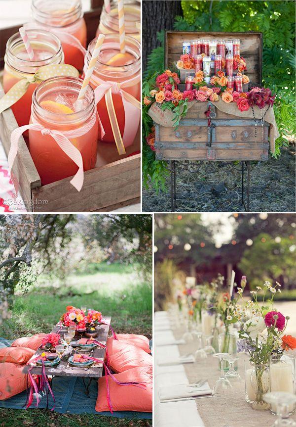 Bohemian chic, leuke ideetjes voor thema http://www.hetbruidsmeisje.nl/tips-trends/tips-trend-bohemian-chic-wedding #mysweetdeer