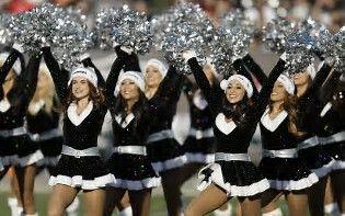 Image result for Oakland Raiders Cheerleaders Bikini Shoot for Adult