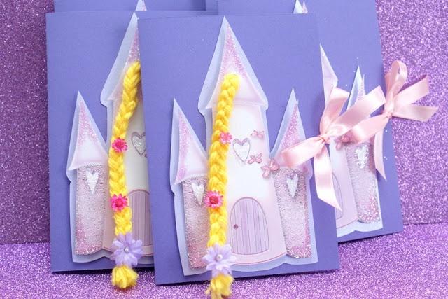Frescurinhas Personalizadas: Convite da Rapunzel!!!