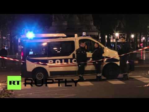 France: Security remains high at make-shift medical centre for Paris att...