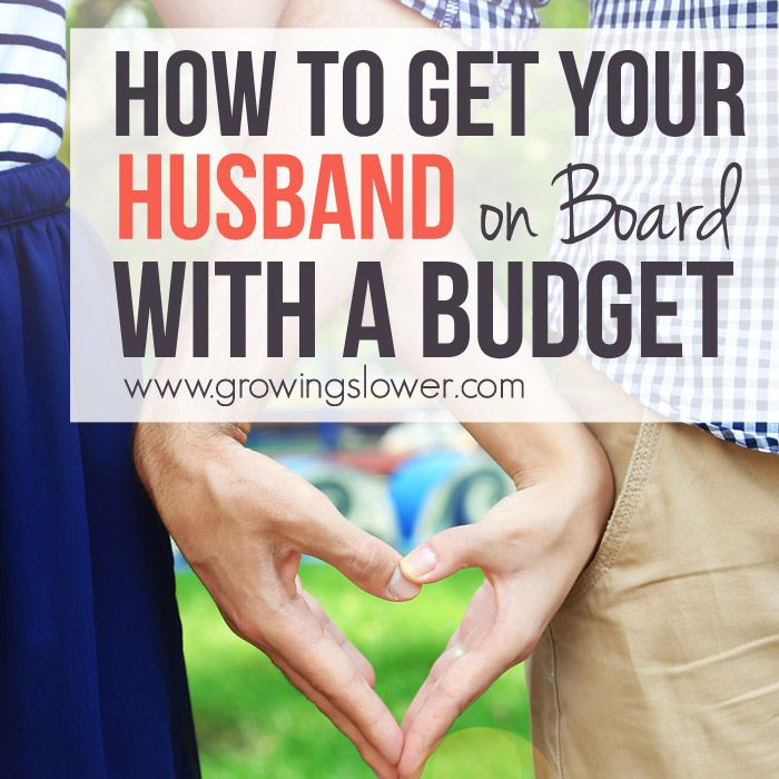 how to get financial support from husband