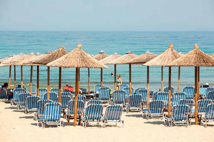 Valitse kohteeksi Golden Beach, kun haluat asuat hyvin, rentoutua ja vain nauttia kreikkalaisesta tunnelmasta. #Thassos #Kreikka #Greece #travel #beach #matka #loma #tjäreborg #letsgo #parhaatviikot