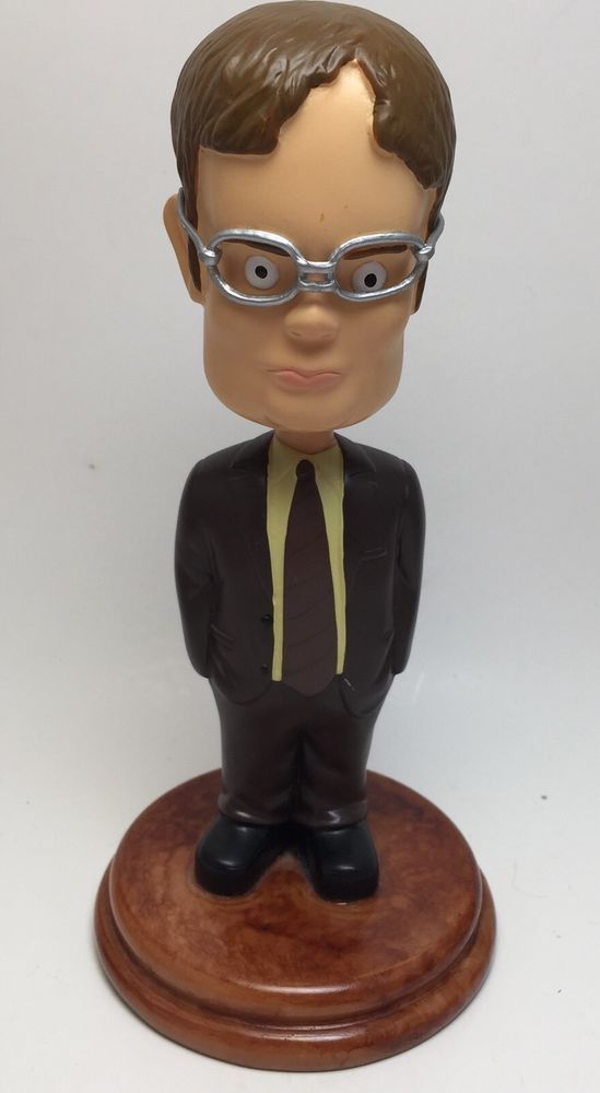 The Office (NBC) Official Dwight Schrute Bobble Head 7 Inches  | eBay
