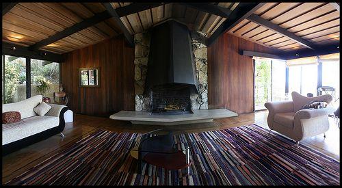 Mid Century Modern Meets Japanese Style Interwoven Wood