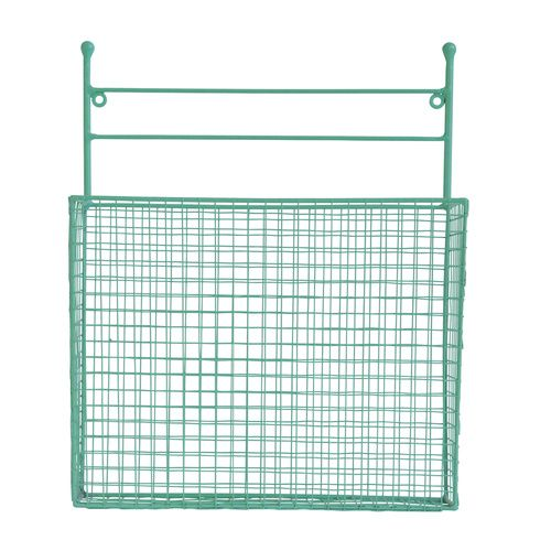 Wire Wall Basket Mint