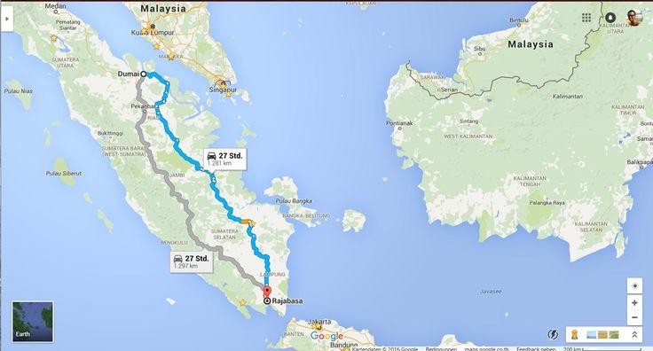9. Автостопом с Бали в Германию 12-14 д   Индонезия, Суматра, Lampung - ...