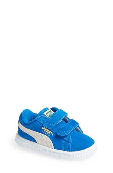 PUMA Suede Sneaker (Walker, Toddler & Little Kid) available at #Nordstrom