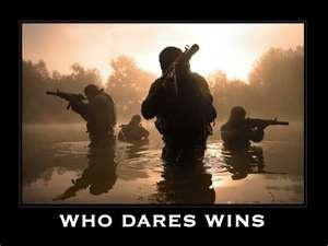 SAS motto - Military
