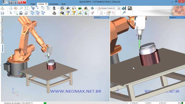 5 Axis Robot Sprutcam