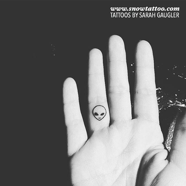 Alien Tattoo by Sarah Gaugler