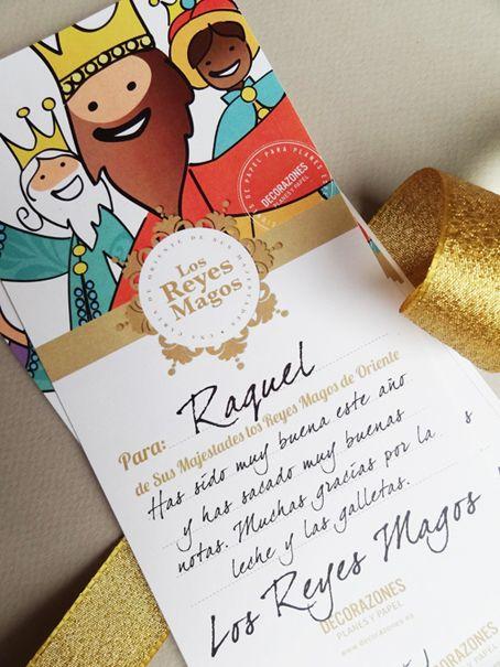 """Decorazones.es _Qué mensaje te dejarán los Reyes Magos?, podrán traerte todo lo que pedías?. en que tienes que mejorar?. Descárgate la """"tarjeta de contestación"""" de los Reyes Magos en la siguiente dirección, para responder a todas las preguntas de tus peques.  http://decorazones.es/carta_reyes_magos.html  (También te puedes descargar la carta de los Reyes Magos)"""