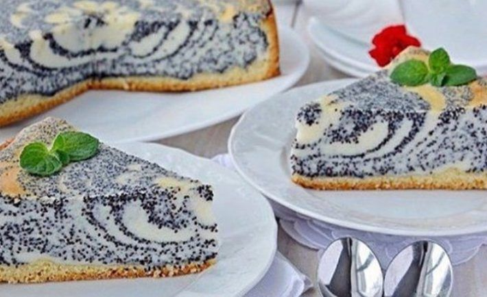 Chutný tvarohový koláčik s makom zmizne hneď z každého stola. Takto ľahko si ho urobíte aj vy | Báječný život