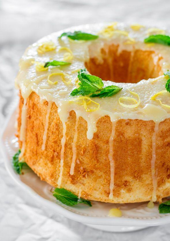 Lemon Chiffon Cake | Jo Cooks