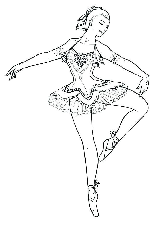 Barbie Ballerina Coloring Pages Colouring Rhpinterest: Barbie Ballet Coloring Pages At Baymontmadison.com