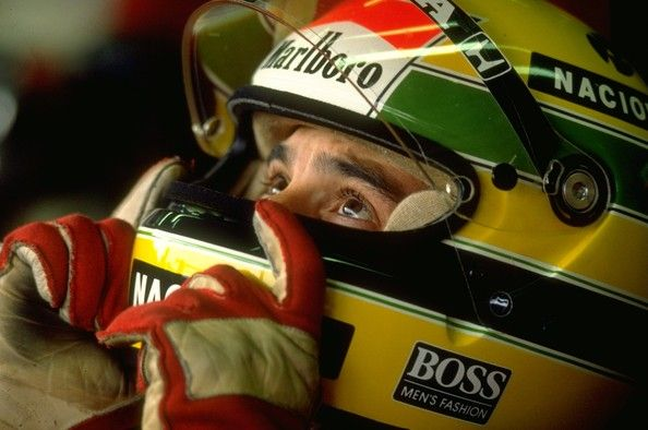 Ayrton Senna Photos Photos - 1990: Portrait of McLaren Honda driver Ayrton Senna of Brazil before the Japanese Grand Prix at the Suzuka circuit in Japan. Senna retired from the race after a collision with Fiat Ferrari driver Alain Prost of France. Mandatory Credit: Pascal Rondeau/Allsport - (FILE) In Profile: Ayrton Senna