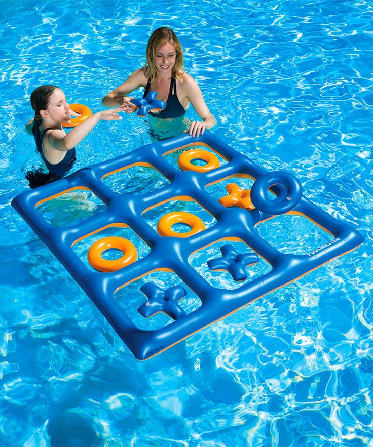 Tic-Tac-Toe Pool & Lawn Game