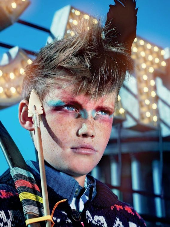 Lost boy hair and make up - Great colors, make each one slightly different. …