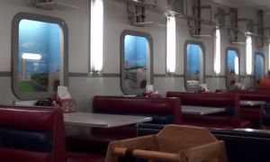 At Kansas City's Fritz's Railroad Restaurant, your meal is delivered by tiny trains! - Posted on Roadtrippers.com!