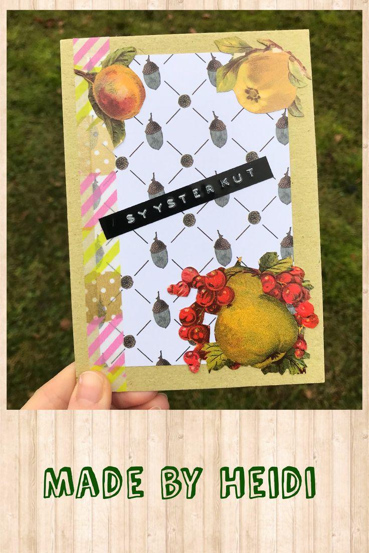 Kortti: Syysterveiset / Autumn greetings DIY card