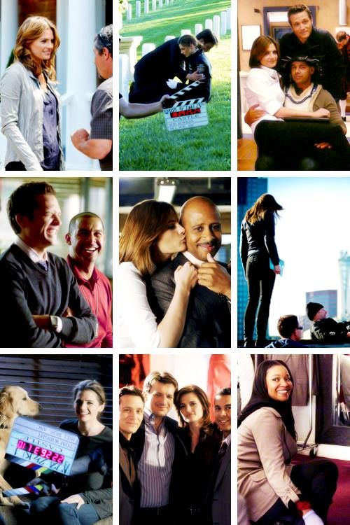 BTS photos on #Castle. I think they have so much fun!