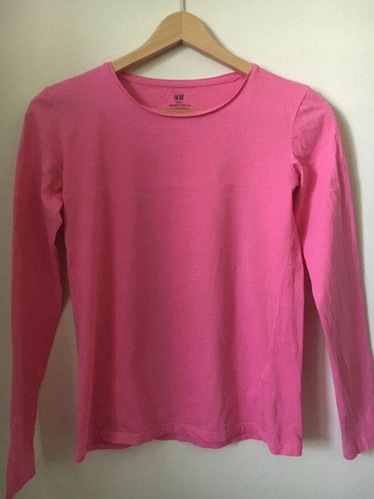 Moje Růžové triko s dlouhým velikost 38 od H&M! Velikost 38 / 10 / S/M za50 Kč. Mrkni na to: http://www.vinted.cz/damske-obleceni/s-dlouhym-rukavem/13189905-ruzove-triko-s-dlouhym-velikost-38.