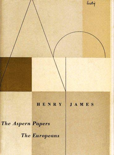 American Graphic Design | Alvin Lustig design for New Directions 1950.