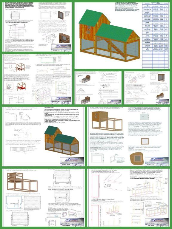 107 best coop building plans images on pinterest | backyard