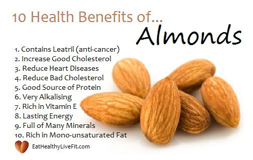 sexual health benefits of almonds