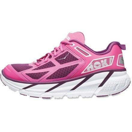 Hoka One One Clifton Road-Running Shoes - Women's. Ultra marathon running shoe