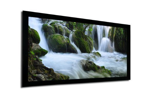 FAVI FF2-HD-100 16:9/100-Inch Fixed Frame Projector Screen by FAVI Entertainment. $244.00. The 100 inch Fixed Frame Projector Screen by FAVI makes the perfect centerpiece for any home theater room. With its perfectly flat, high gain viewing surface and elegant black velvet borders, this projector screen is sure to impress. Set up is simplified with rigid aluminum frame construction and individual screen tension adjustment screws equally spaced, allow for a smooth and profe...