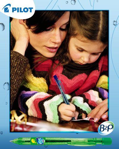 Odteraz môžete podporovať myšlienku ekológie vždy, keď vezmete do ruky perá Pilot B2P #happywriting #pilotpen #pen #b2p