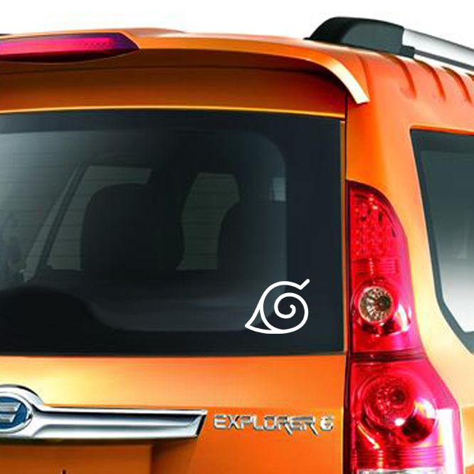 Naruto leaf symbol decal stickers for car trucks suv windows http ow