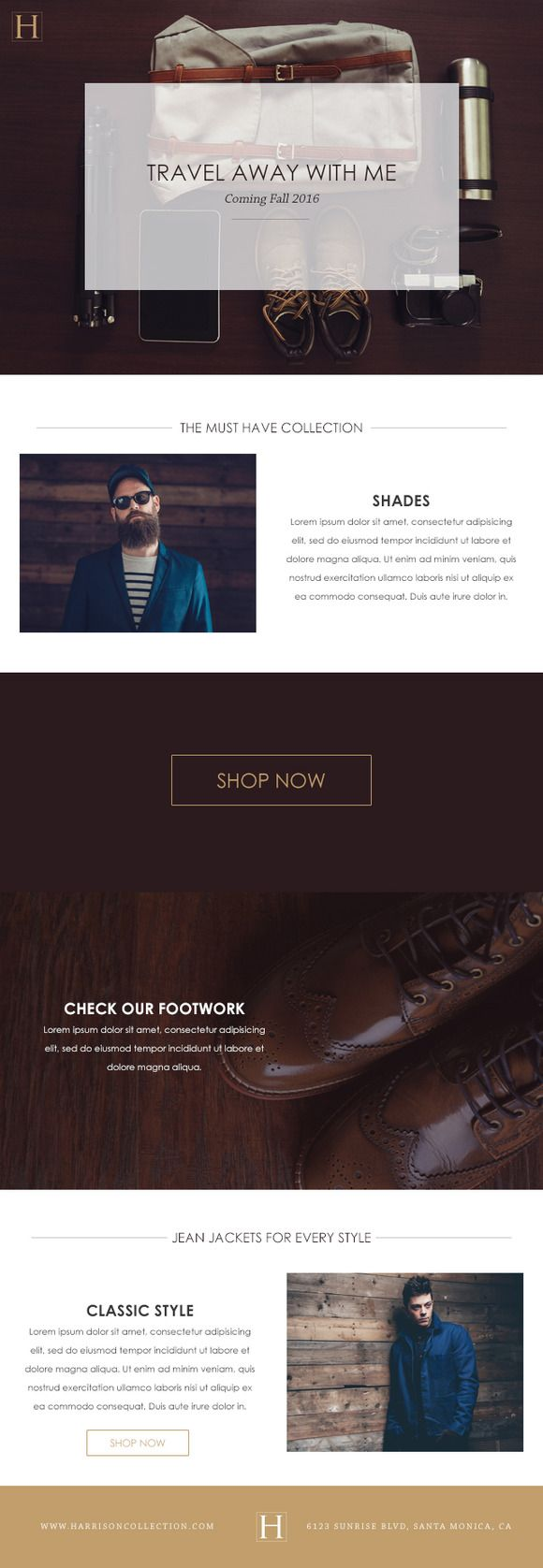 Best Email Templates Images On   Email Design Email
