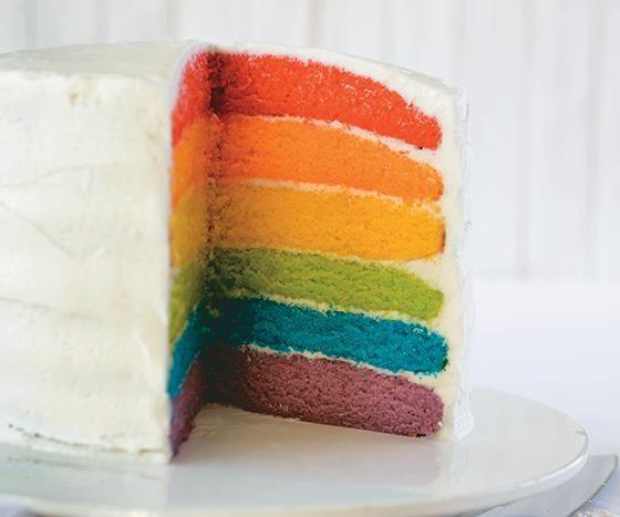 Vrouekeur | Rainbow Cake