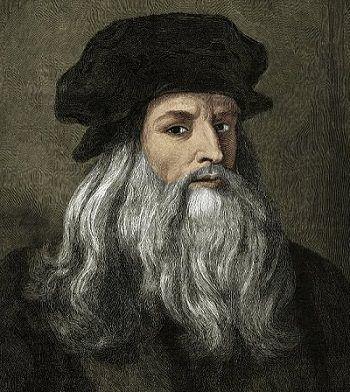 Leonardo da Vinci was een architect, uitvinder, ingenieur, filosoof, natuurkundige, scheikundige, anatomist, beeldhouwer, schrijver, schilder en componist uit de Florentijnse Republiek, tijdens de Italiaanse renaissance. Hij wordt gezien als het schoolvoorbeeld van het renaissance-ideaal van de homo universalis en als genie.