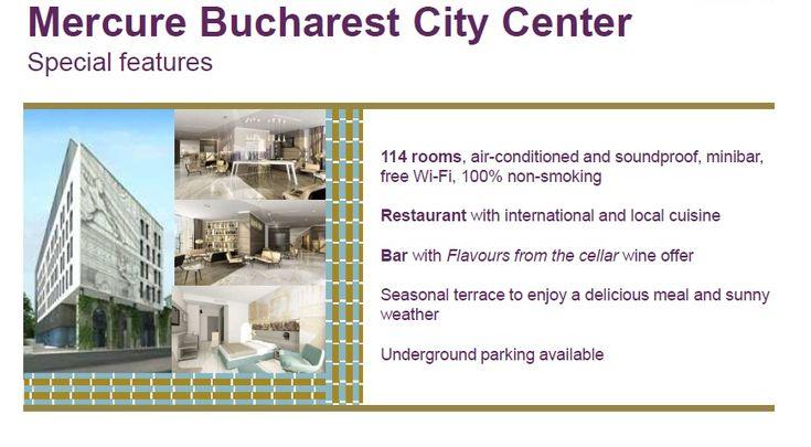 Hotel Mercure Bucharest City Centre - http://www.hotel-bucuresti.com/hoteluri/hotel_mercure_bucharest_city_center-158.html