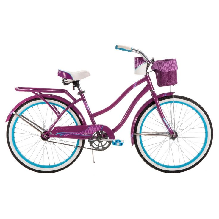 """*Free assembly for all store and order pick up purchases for bikes 20"""" and up!<br><br>You deserve a comfortable ride and Huffy's Ladies 24"""" Nassau Cruiser is the perfect ride. Includes cup holder and  basket, which is the perfect place to keep snacks or little extras you may need during your leisurely ride. The seat is cushioned with spring construction and is easily adjustable. Huffy's Ladies 24"""" Nassau Cruiser is the perfect choice for cru..."""