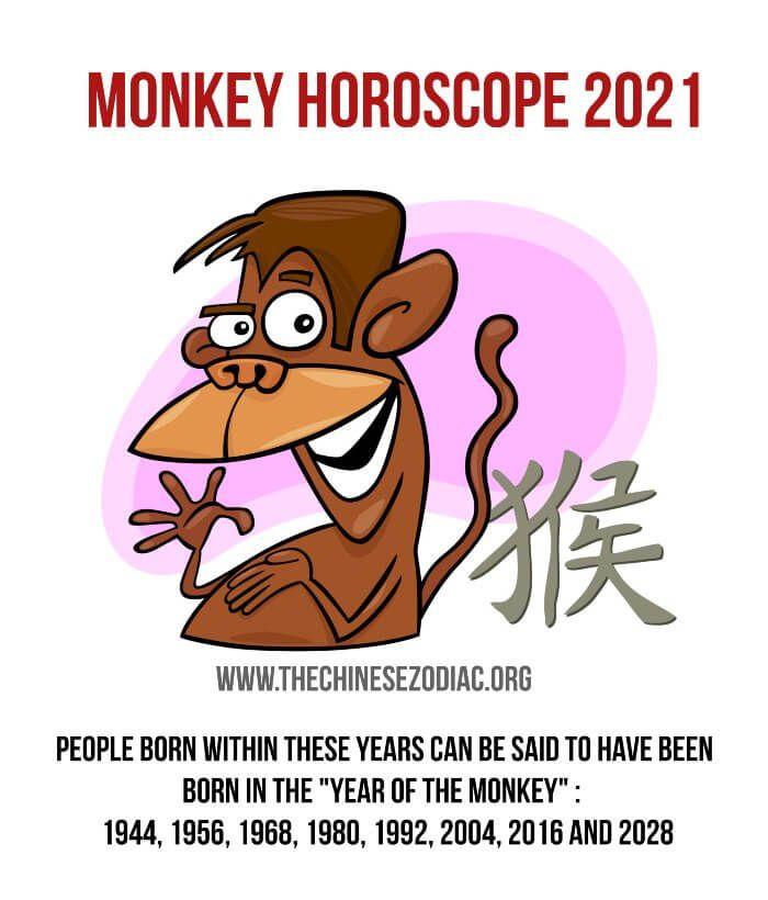 Monkey Horoscope 2021 Year Of The Monkey Horoscope 2021 2021 Horoscope
