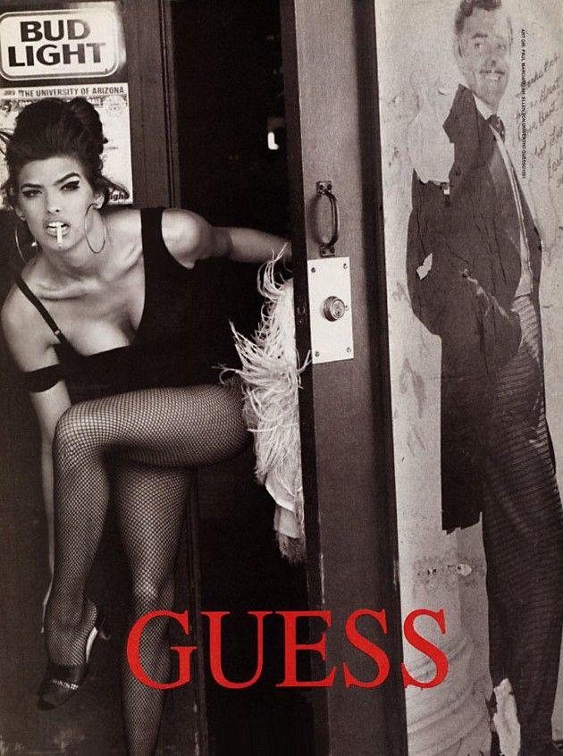 Have always loved vintage guess ads..