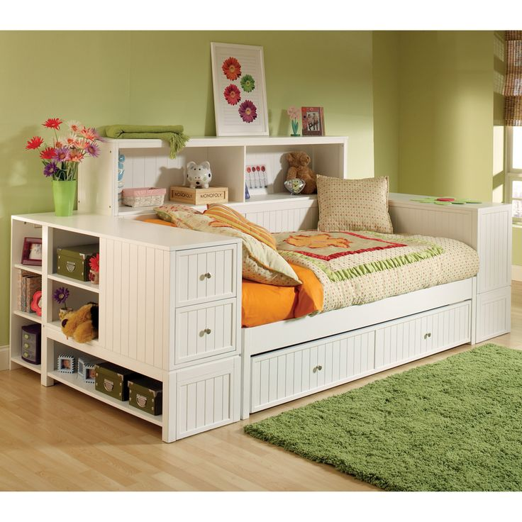 cody daybed with trundle u0026 storage hillsdale furniture twin daybed drawer trundle bookcase storage youth