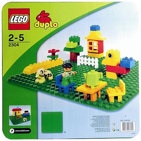 Buy LEGO Duplo Building Plate Online at johnlewis.com £10.79